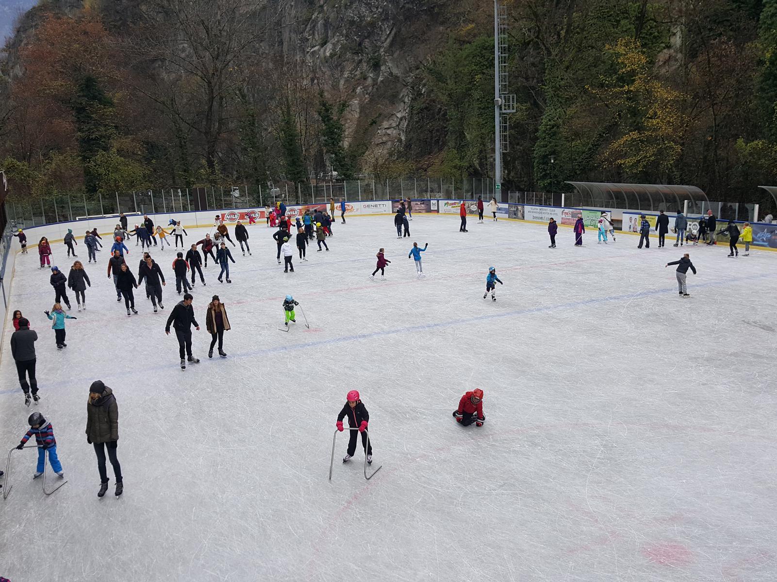 Eislaufen in Lana