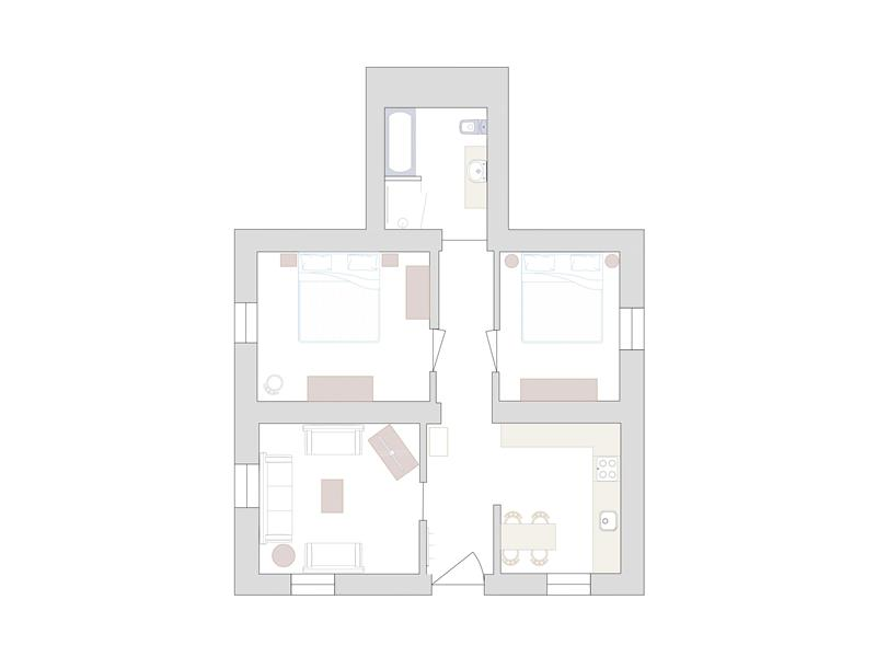 Appartement Rosa