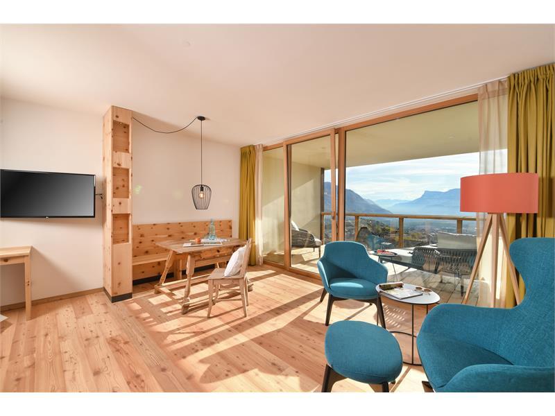 Panorama Suite Süd-West in der neuen vierten Etage
