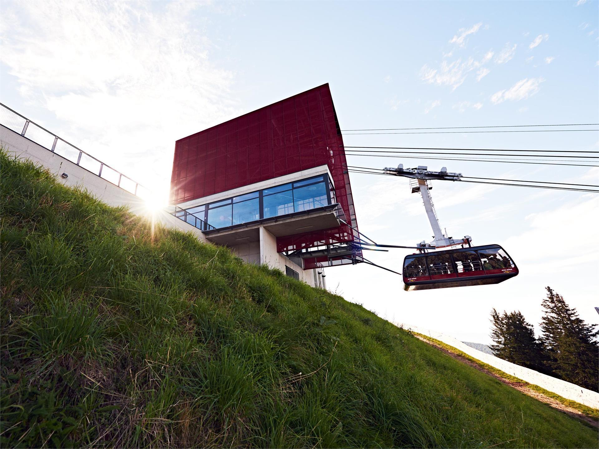 Die größte Bergbahn Südtirols - Meran 2000