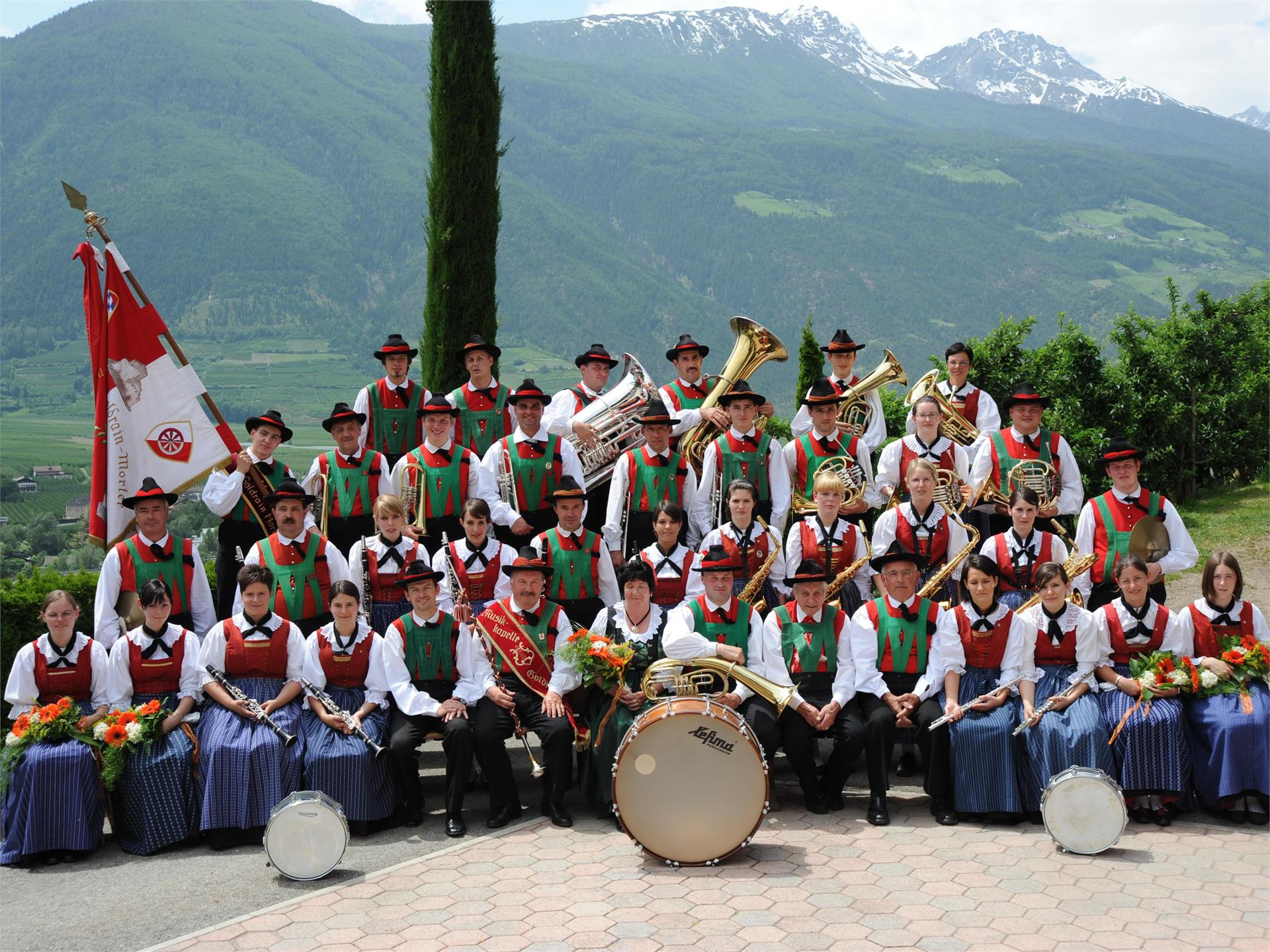 concert from the musci group of Coldrano/Morter