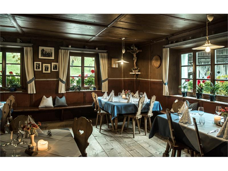 Typical tyrolean dining room 300 years old