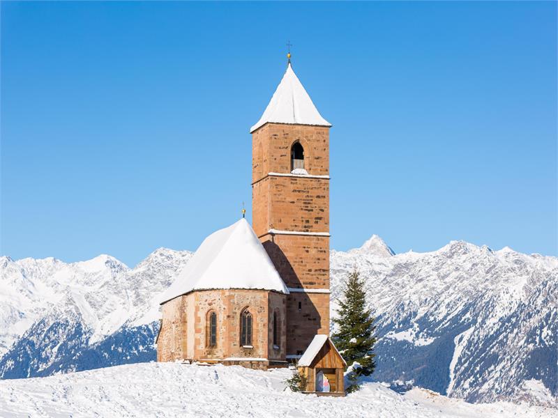 St. Kathrein church in Avelengo, South Tyrol