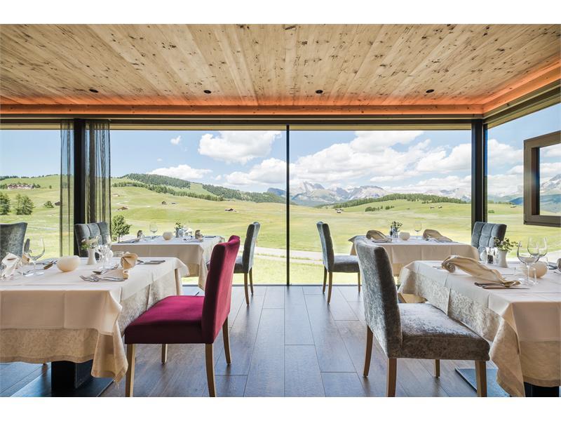 Restaurant mit Blick - Seiser Alm