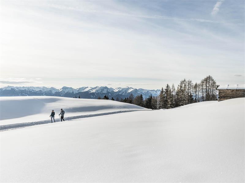 Winterwandern auf der Lüsner Alm