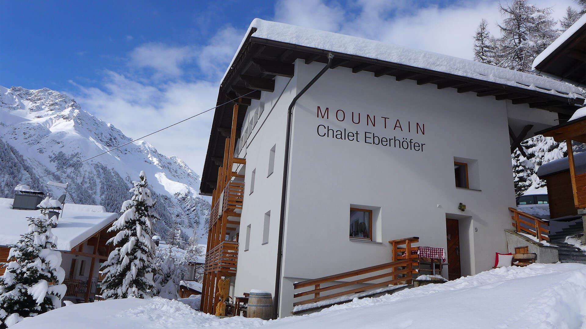 Mountain Chalet Eberhöfer inverno