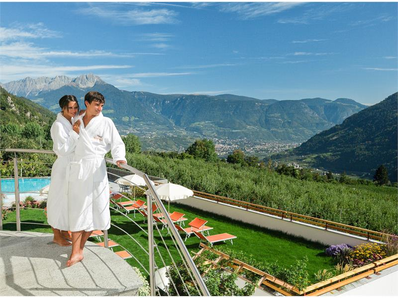 Well-being with a spectacular view over Merano