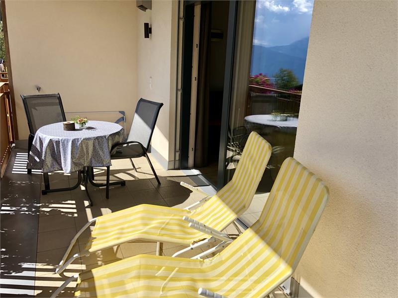 Balcone appartamento Rosa Alpina