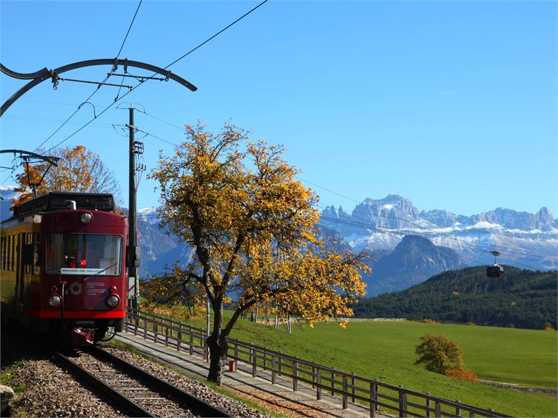 Railway and cablecar Ritten