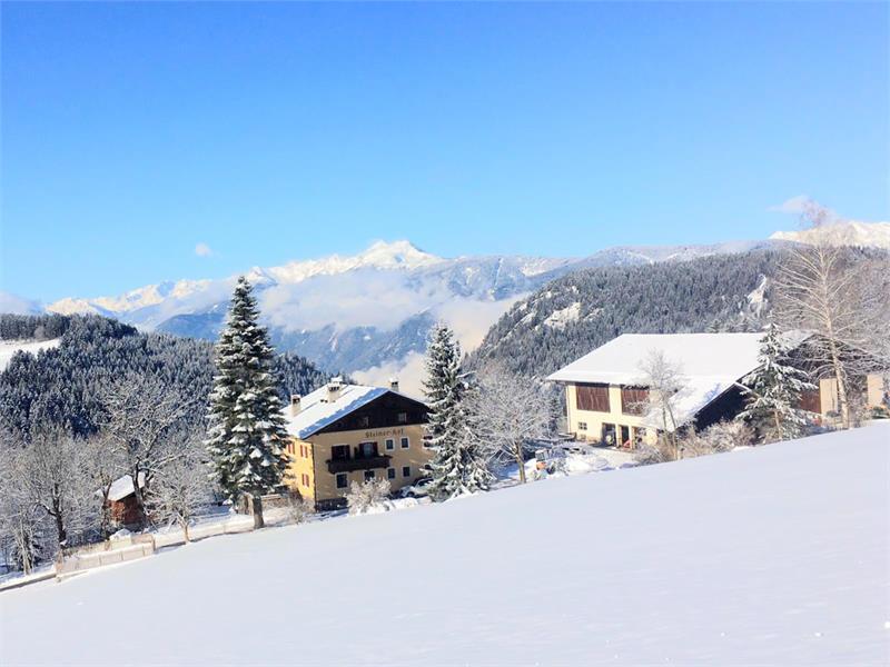 Winteraussicht am Steinerhof
