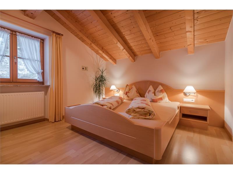 Doppelzimmer - Ferienwohnung Salbei Wieserhof Vöran