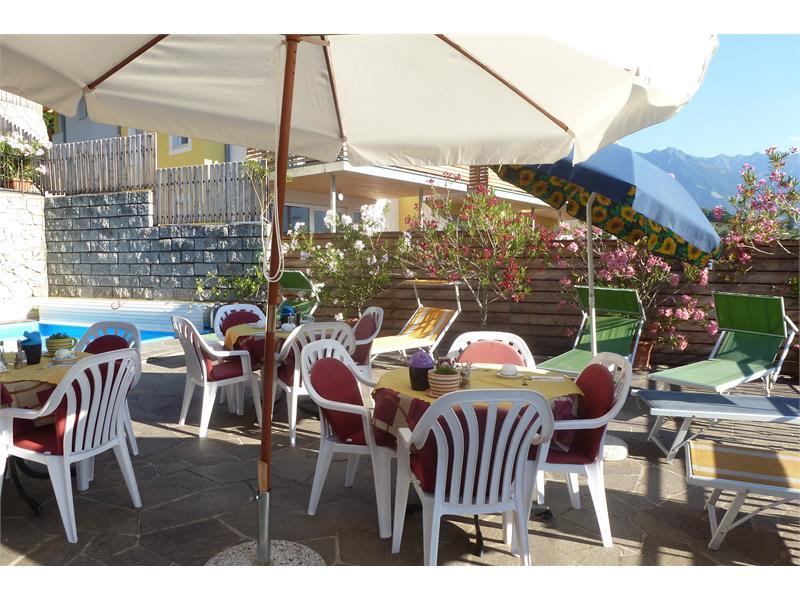 Terrasse, Schwimmbad