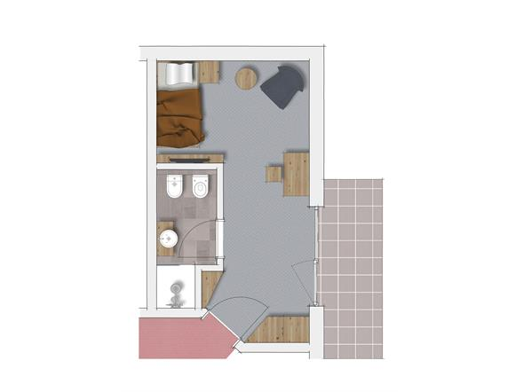 Zimmer Kat. E