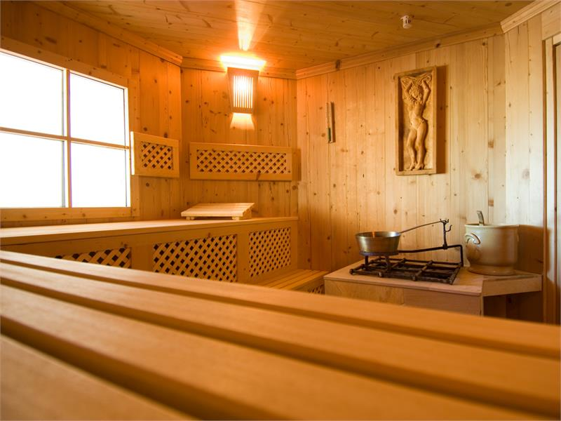 Sauna, Dolomiten