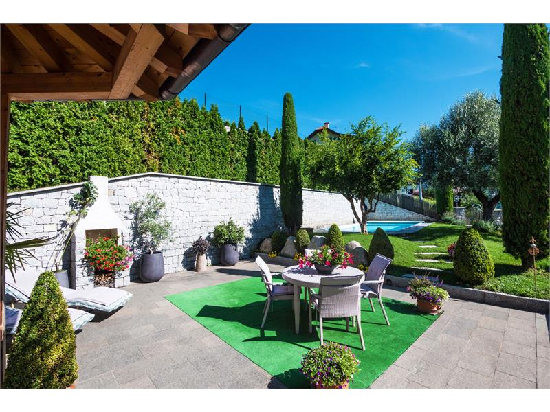 Residence Immenhof - the garden