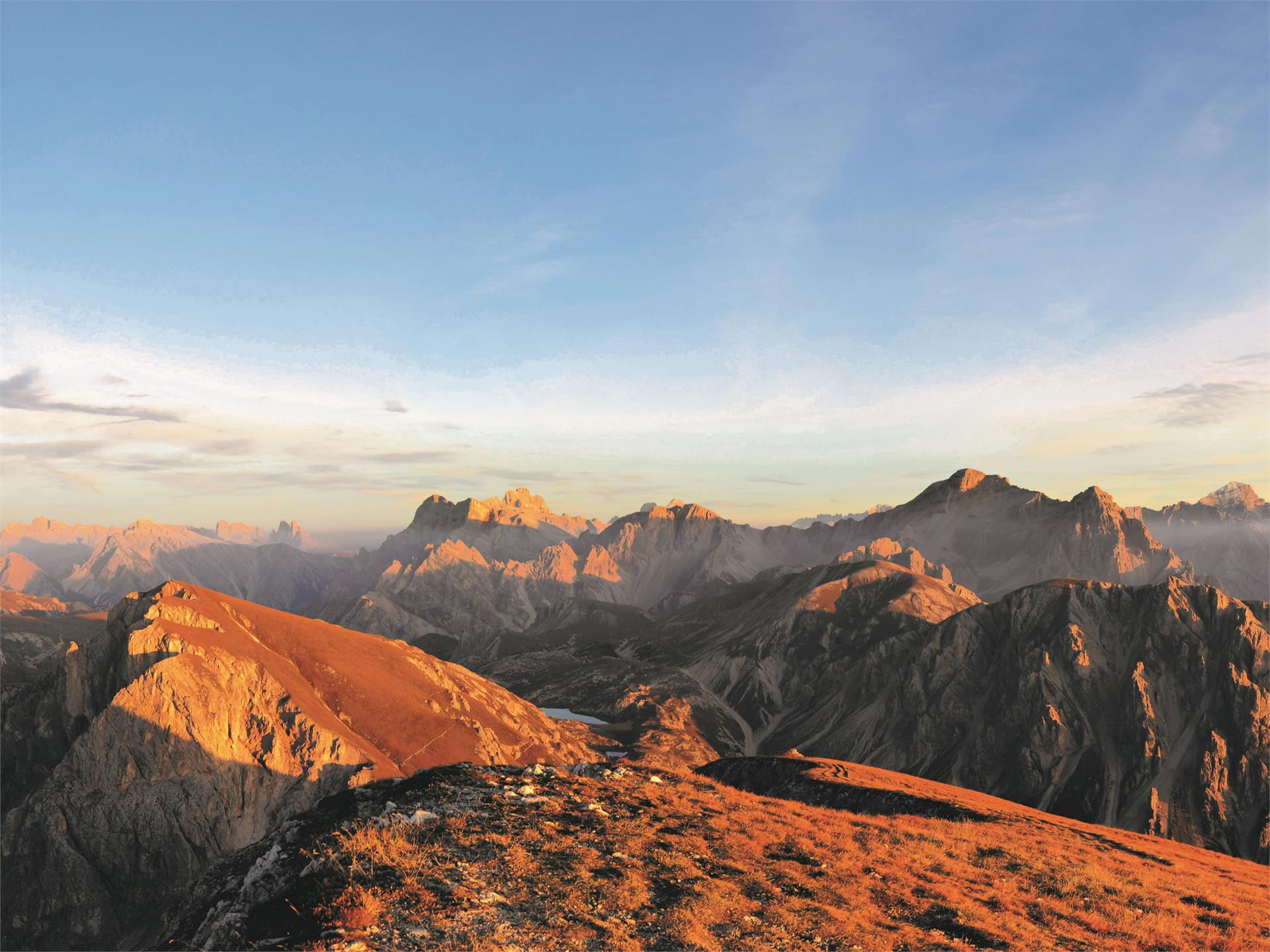 Guided hike: Piz da Peres - the mountain on the edge of the Dolomites