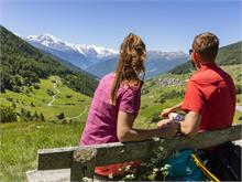 Wandern im Bergsteigerdorf Matsch