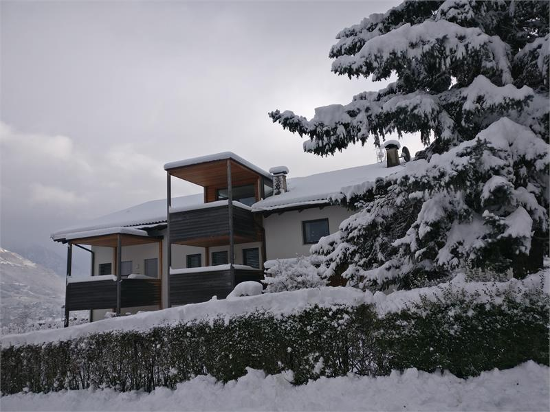Apartments Schwarzlehen, Naturns bei Meran, Urlaub im Winter,