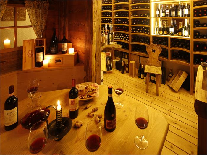 Wine cellar, Ritsch, Seiser Alm