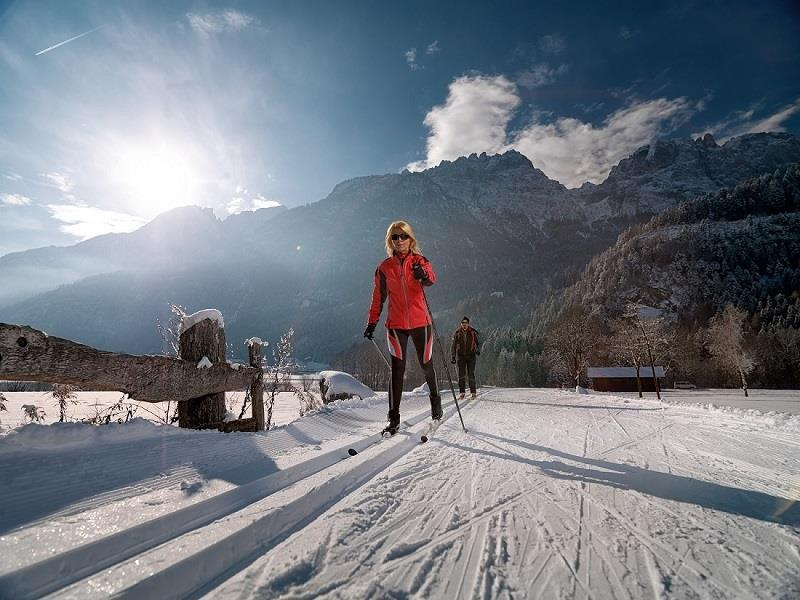 Cross-country skiing Lienz