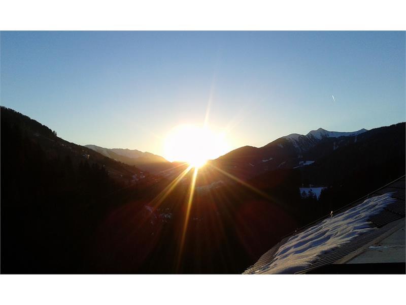Vista panoramica la mattina