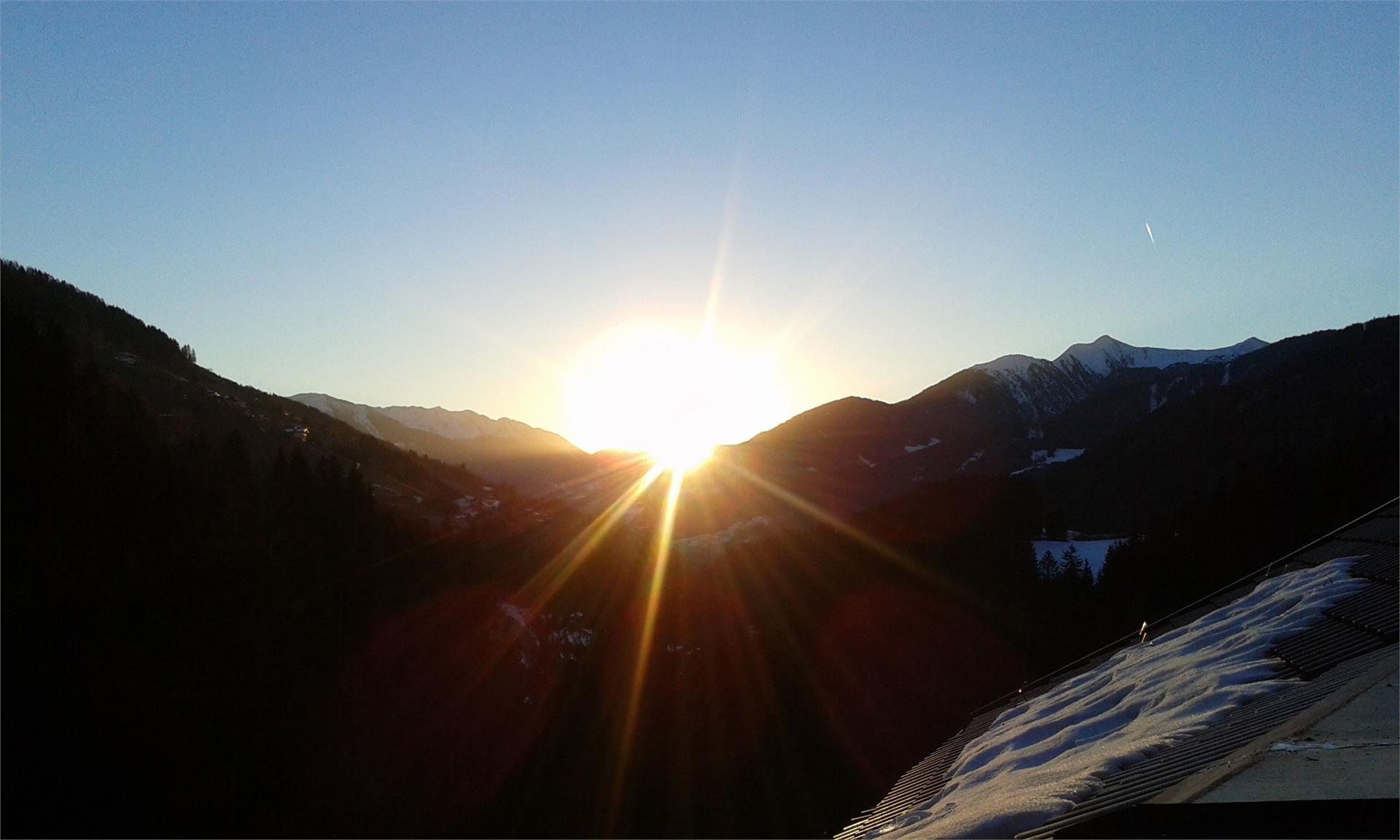 Ausblick am Morgen