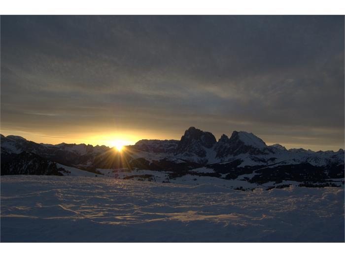 Alpe di Siusi d'inverno