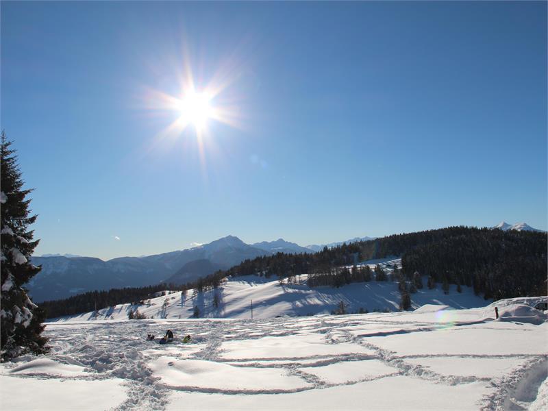 Winterwanderung zur Leadner Alm