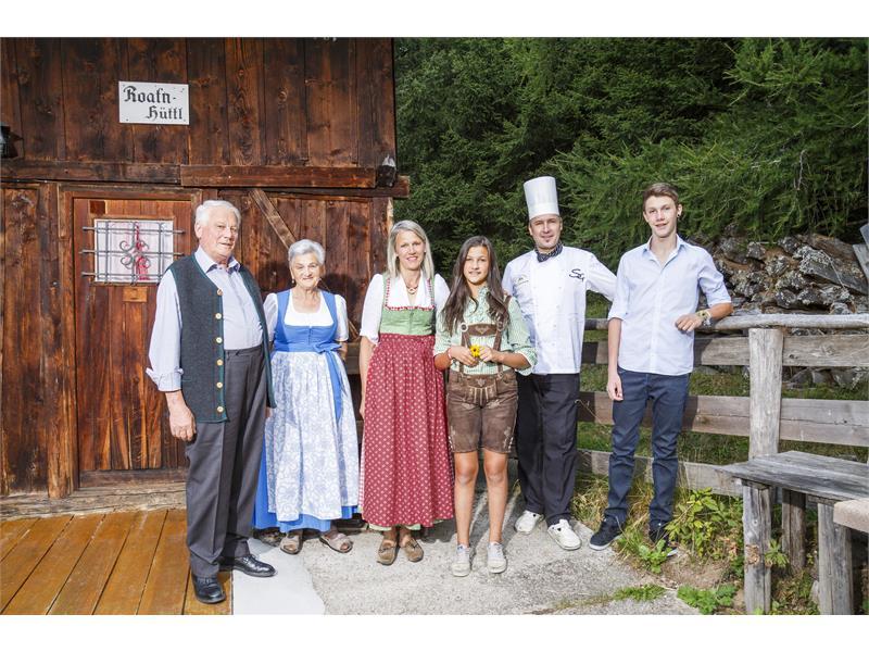 Familie Egger - Hotel Falzeben
