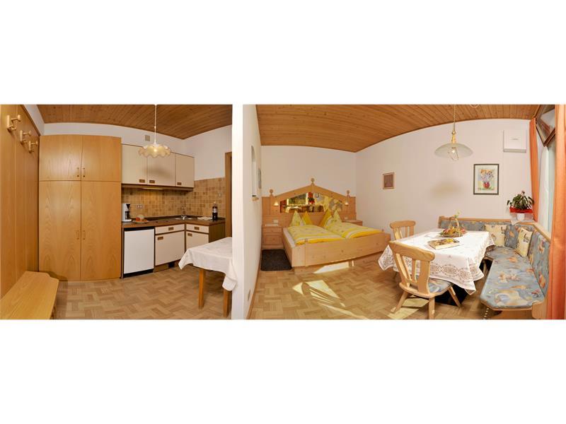 cucina - soggiorno - camera da letto