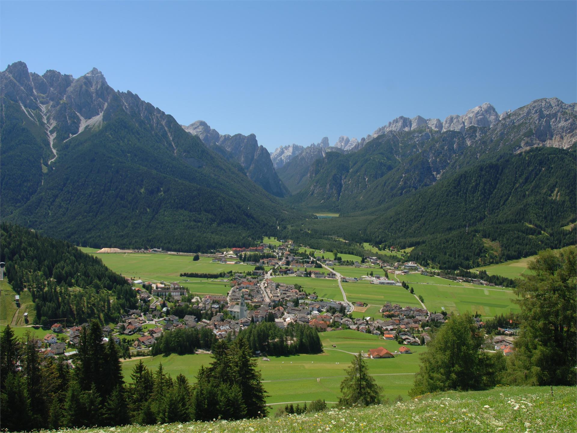 Summer hiking tour:Dobbiaco/Toblach - Monte Rota/Ratsberg