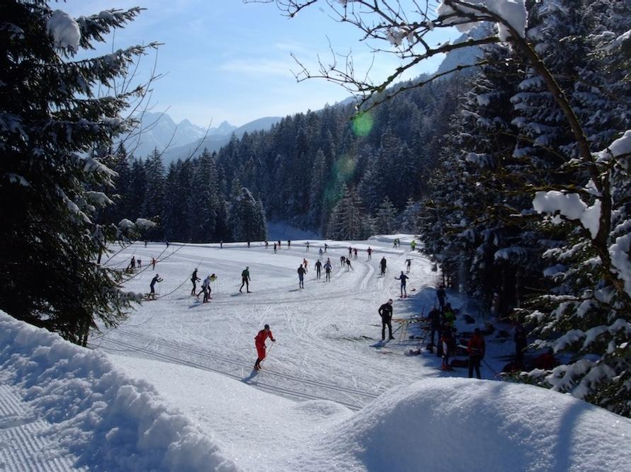 Pista di Fondo Forni di Sopra - Dolomiti Friulane
