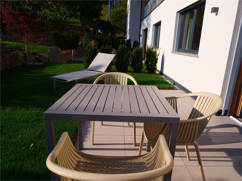 The cosy private garden