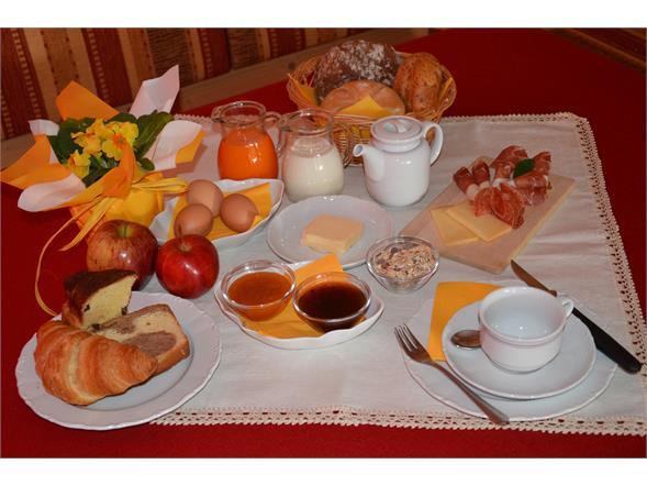 breakfast al Bacherhof