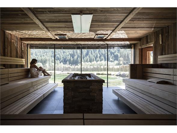 See-Eventsauna Alphotel Tyrol Wellness, Chalets & Family Resort