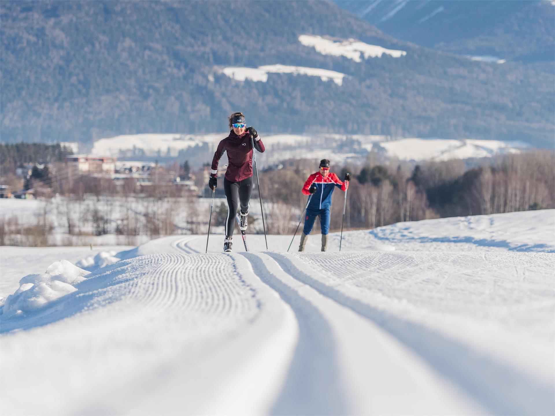 Cross-country skiing taster lesson