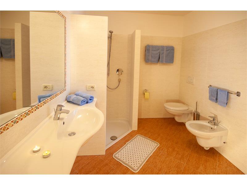 Bagno appartamento Santner