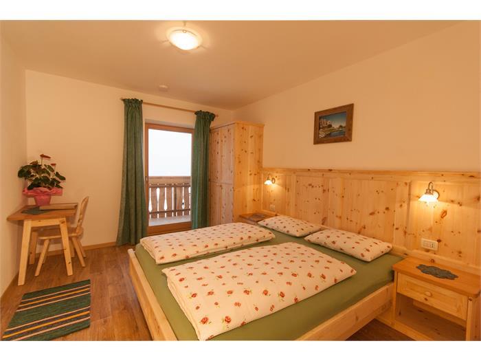 Schlafzimmer Santner / Schlernblick