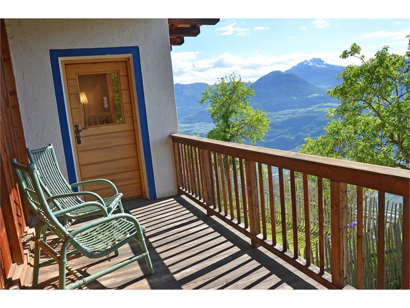 Traumhafter Ausblick vom Balkon - Kohlstatt Hütte