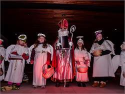 Traditioneller Nikolausumzug der Pfoffagonder Tuifl