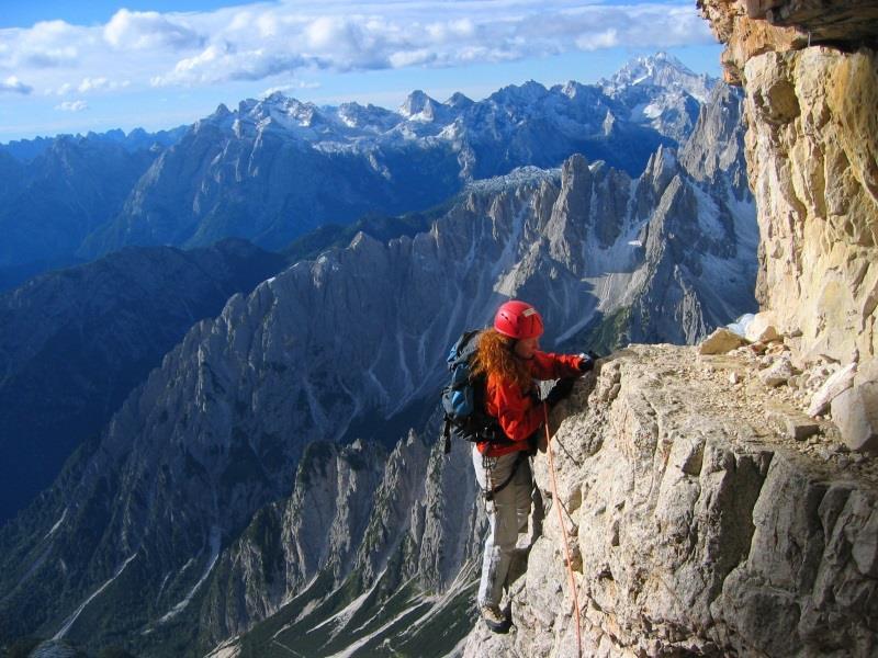 arrampicata Cima Grande