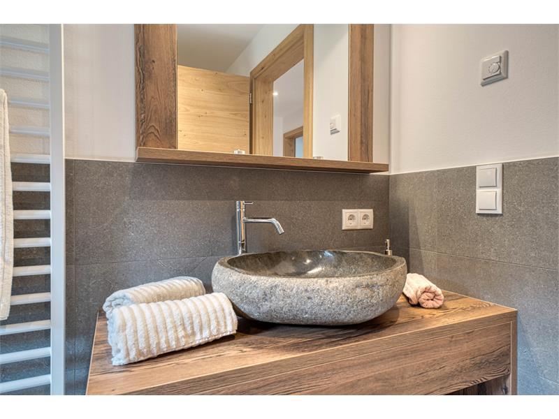 Moderne Badezimmer - Ferienwohnung Lavendel