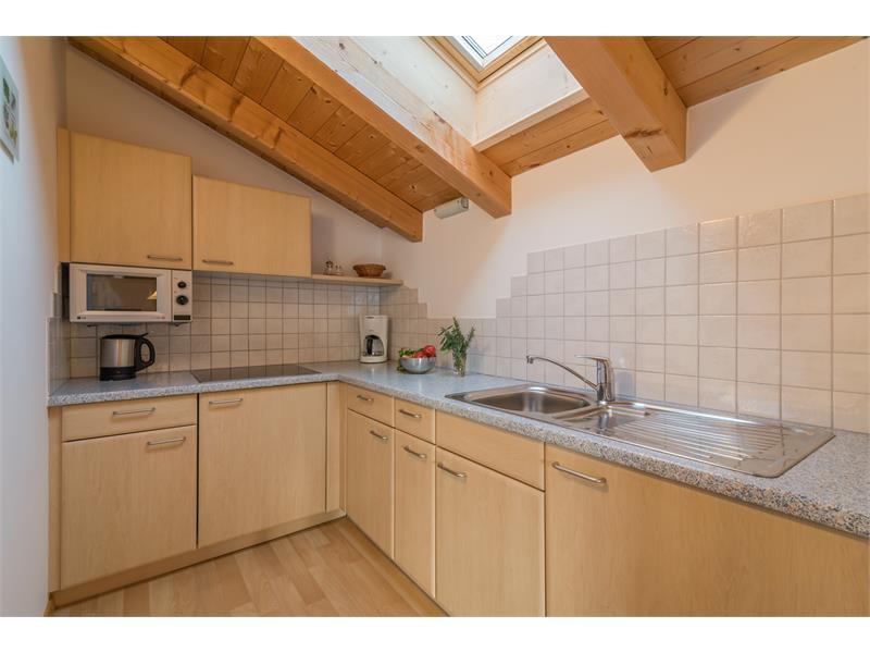 Wohnküche - Ferienwohnung Salbei Wieserhof Vöran