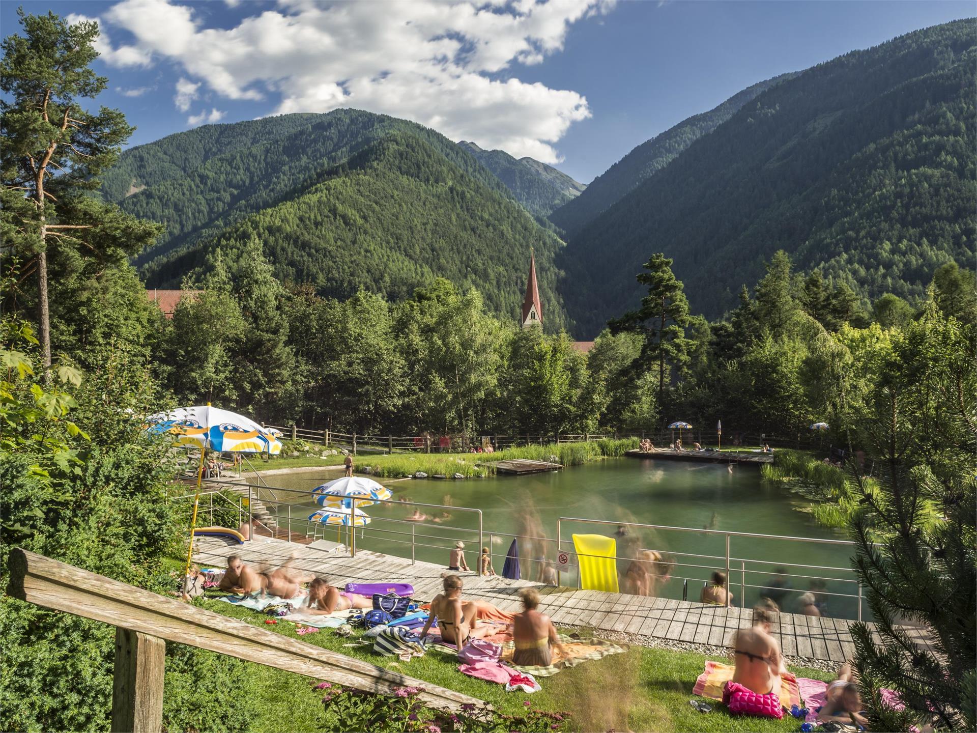 Natural bathing pool Lüsen
