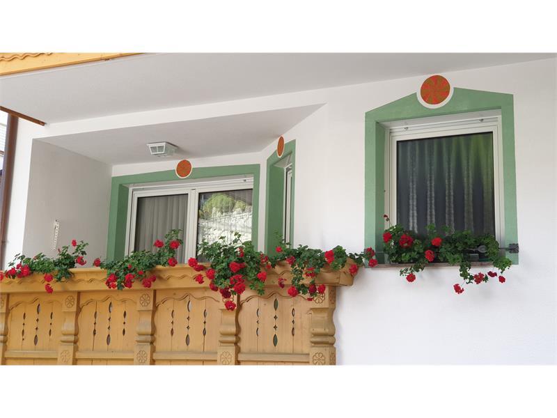 Appartement Bergrose Balkon