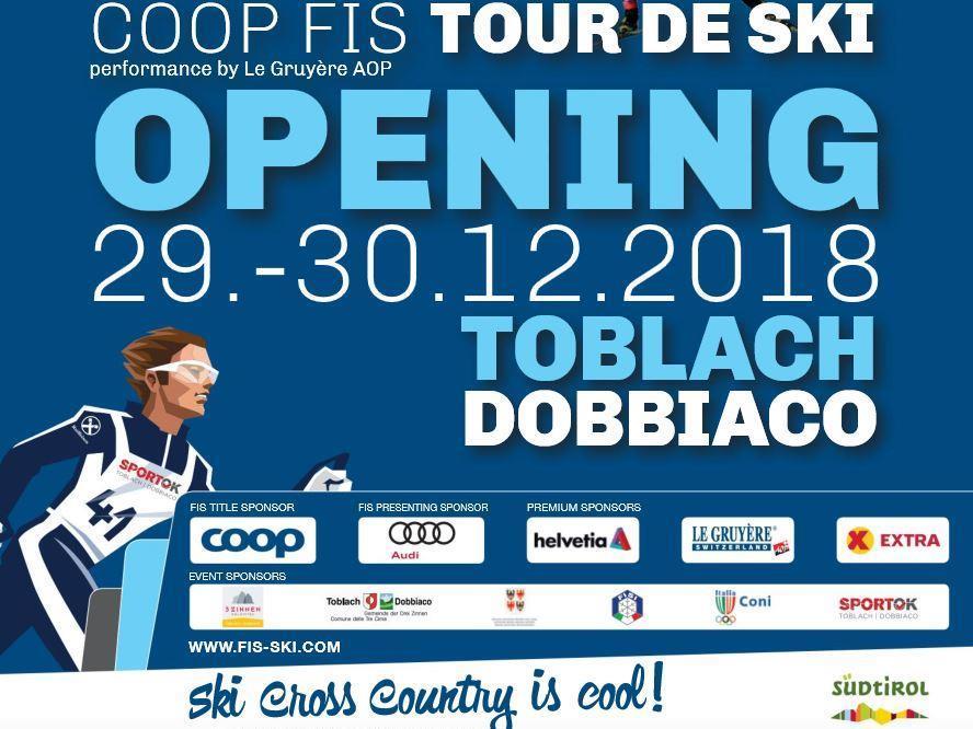 OPENING FIS Tour de Ski 2019