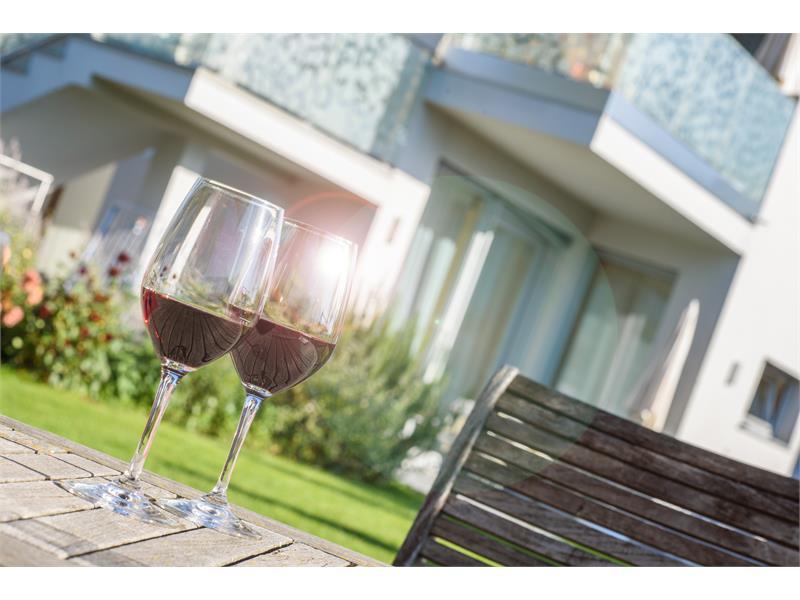 Ideal um ein Glas Wein zu genießen