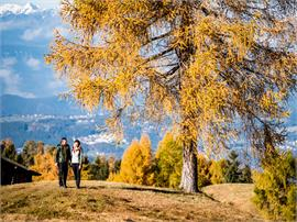 From hut to hut: Hiking adventure in autumn