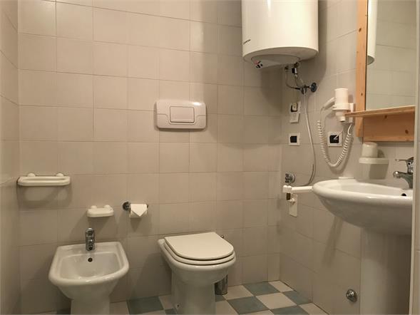 Badezimmer in Appartement Stella Alpina
