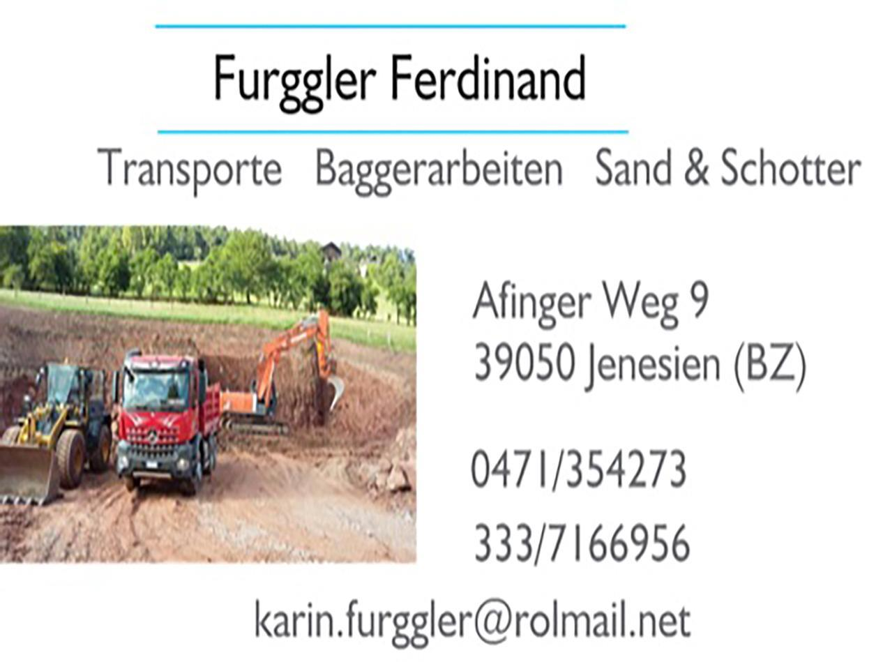 FURGGLER FERDINAND HAULING & DREDGING COMPANY
